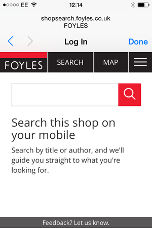 foyles search wifi