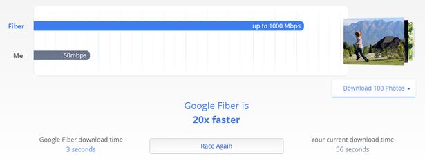 fiber race