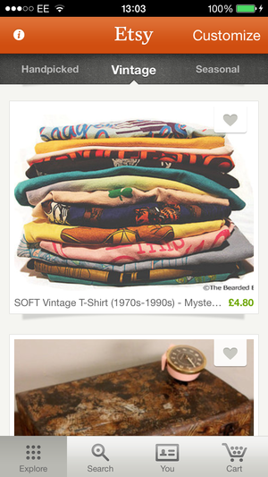 Etsy Is An App To Get Lost In And The Endlessly Scrolling Product Listings Help Facilitate That Perfectly