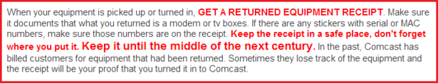 comcast cancel service