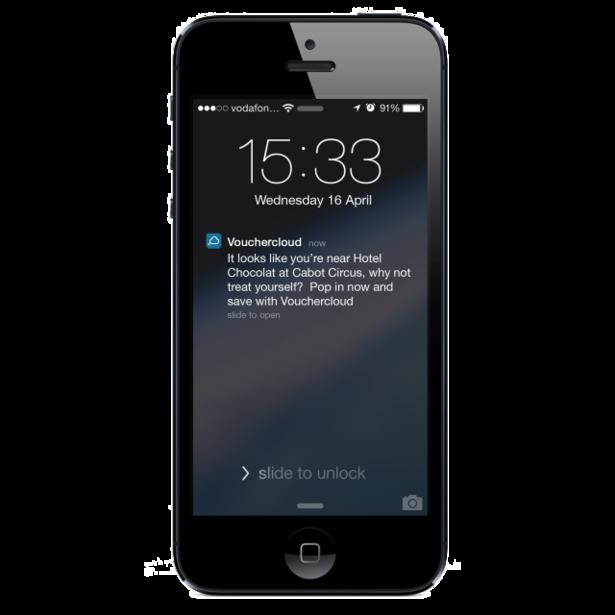 voucher cloud notification