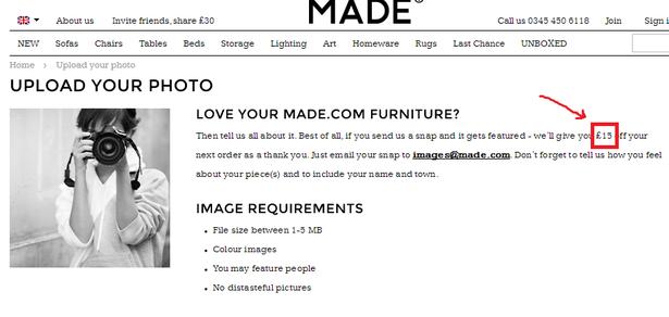 upload your photo - made.com