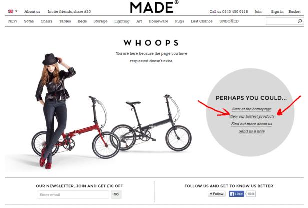 made.com 404
