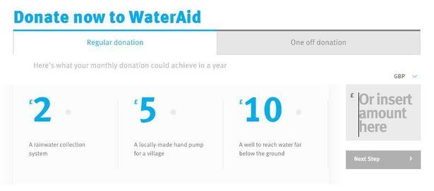 Donate Amount
