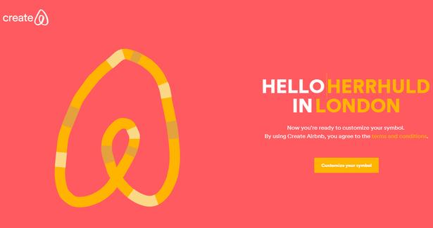 airbnb logo creator