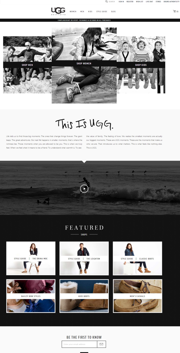 ugg homepage