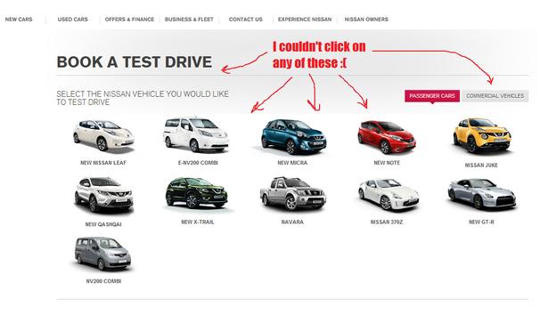 test drive booker