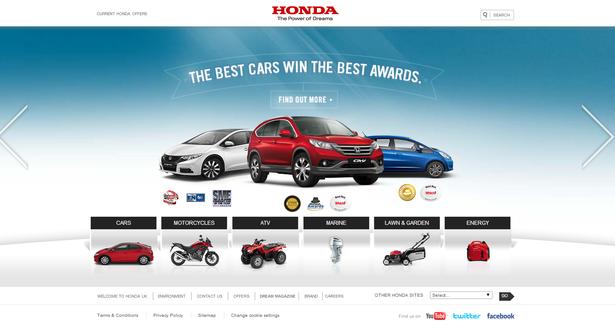 honda homepage