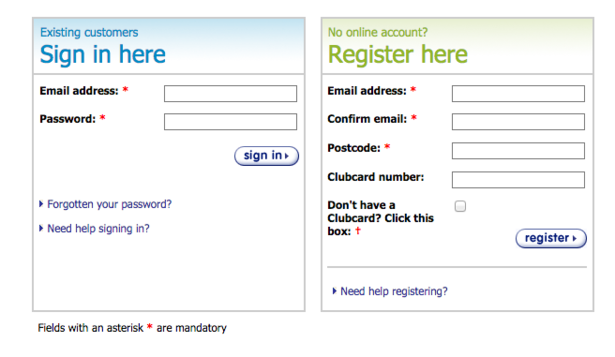 Zagg Com Register >> Guest Checkout Test Which Of These 30 Uk Retailers Force