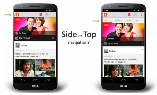 Hamburger menus for mobile navigation: do they work?