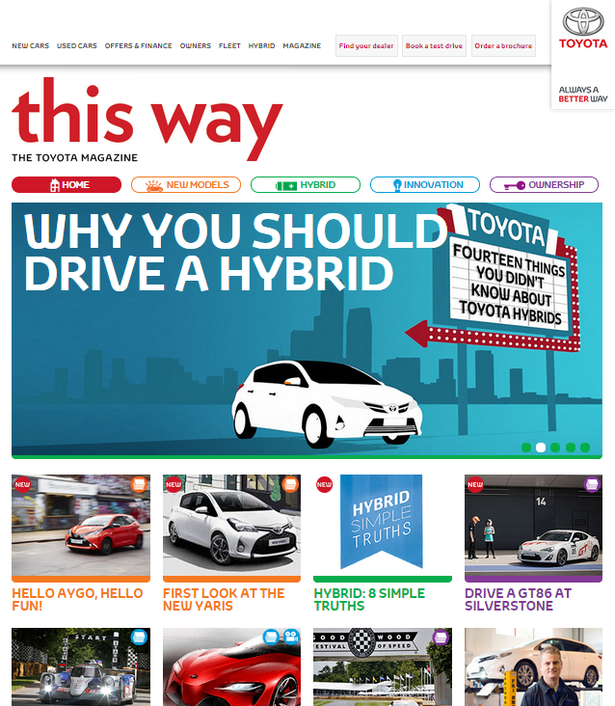 this way - toyota mag