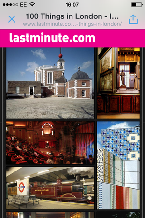 lastminute london