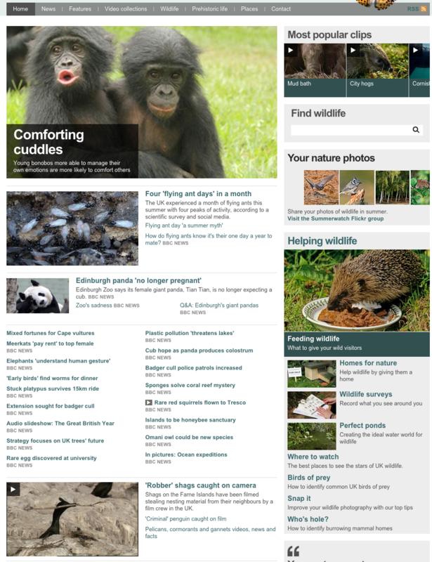 bbc nature 2013