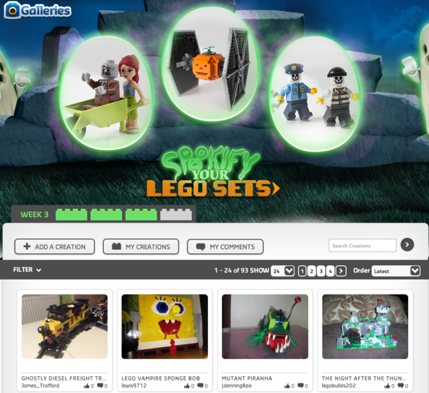 lego halloween marketing, vivid brand, shopper marketing