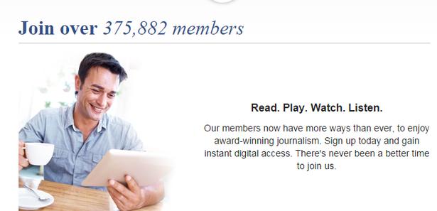 the times membership