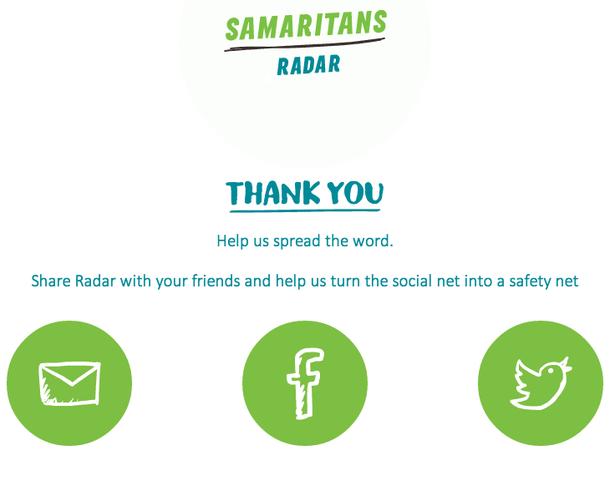 samaritan's radar