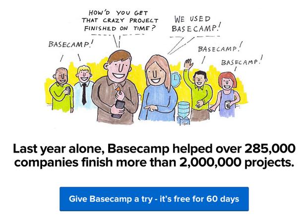 social proof basecamp