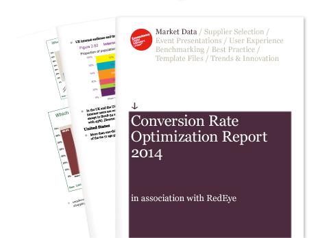 Conversion rate optimization strategy
