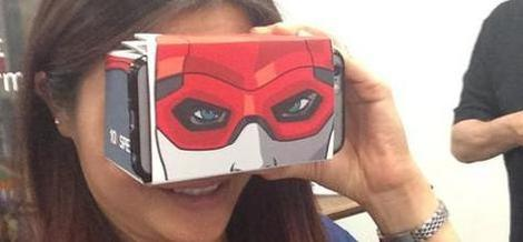 Trying the 10x Spex virtual reality viewer for smartphones
