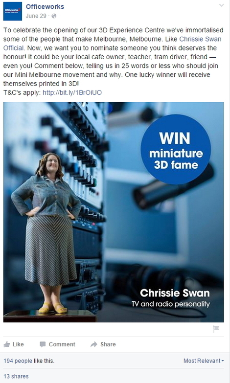 How australias officeworks makes office supplies attractive on six its understandable that this is not the main social channel but perhaps there is a missed opportunity here gumiabroncs Gallery