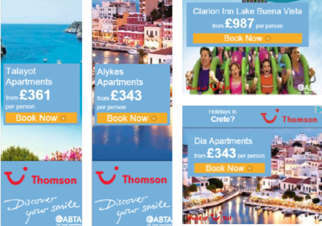 Varieties of Thomson ads