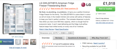 lg fridge freezer product copy