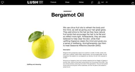 bergamot oil page