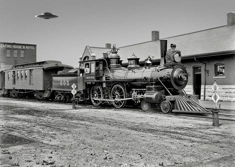 train and ufo