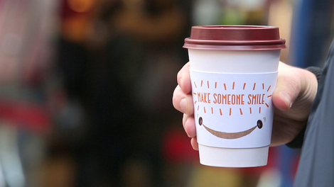 pret coffee sleeve