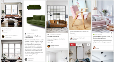 made.com on pinterest