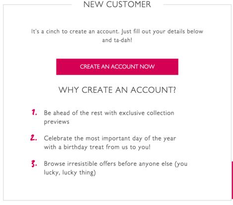 why create an account