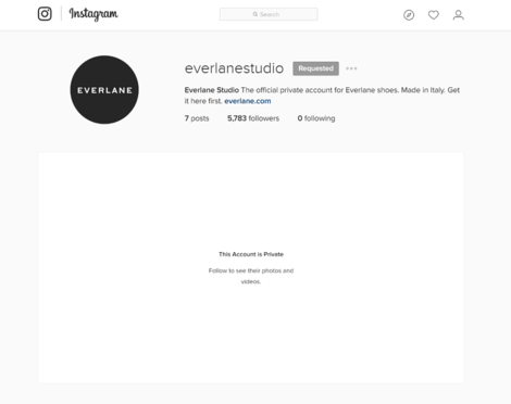 everlane instagram
