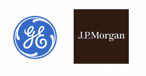 jp morgan and ge logos