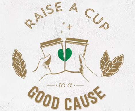 raise a cup - starbucks