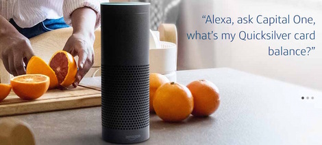capital one alexa
