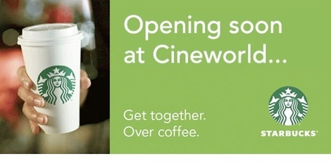 starbucks at cineworld