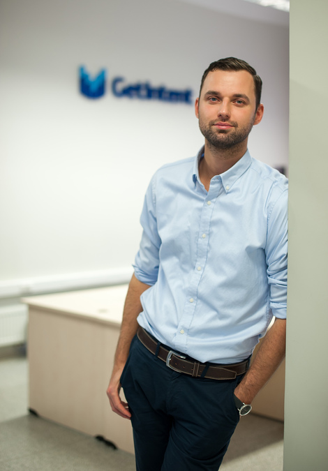 George Levin, the CEO and co-founder of GetIntent, a machine learning-powered programmatic platform