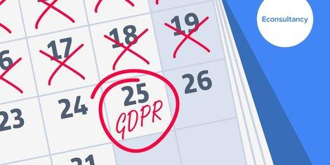 gdpr date on calendar