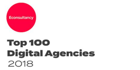 top 100 agencies report logo