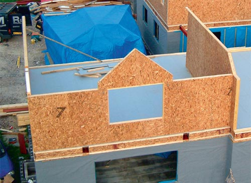 SIPs (Structural Insulated Panels) Construction