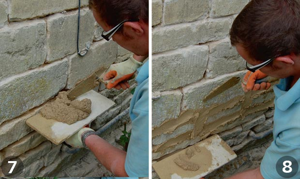 How To Repoint A Wall Homebuilding Amp Renovating