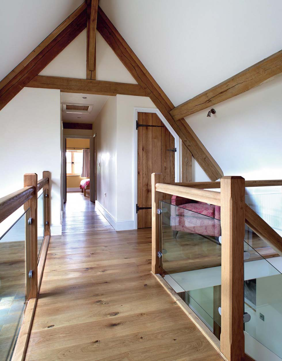 The galleried landing