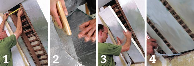 Installing between-rafter insulation