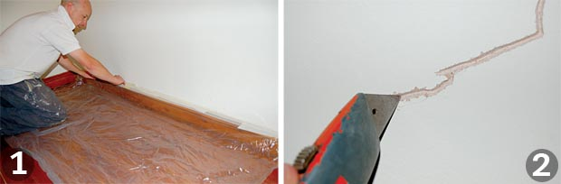 How To Patch Up Plaster Homebuilding Renovating
