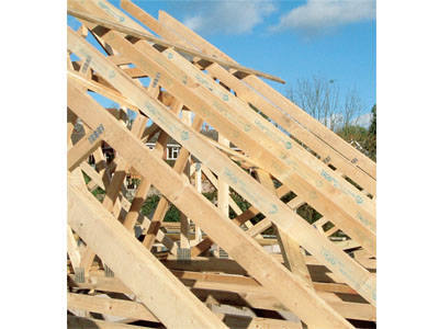Roof structures homebuilding renovating for Pre made roof trusses