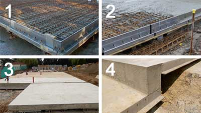 Abbey Pynford's Housedeck is a hybrid foundation system that mixes the principles of piled and raft foundations, and also incorporates insulation and eliminates the need for a damp-proof course