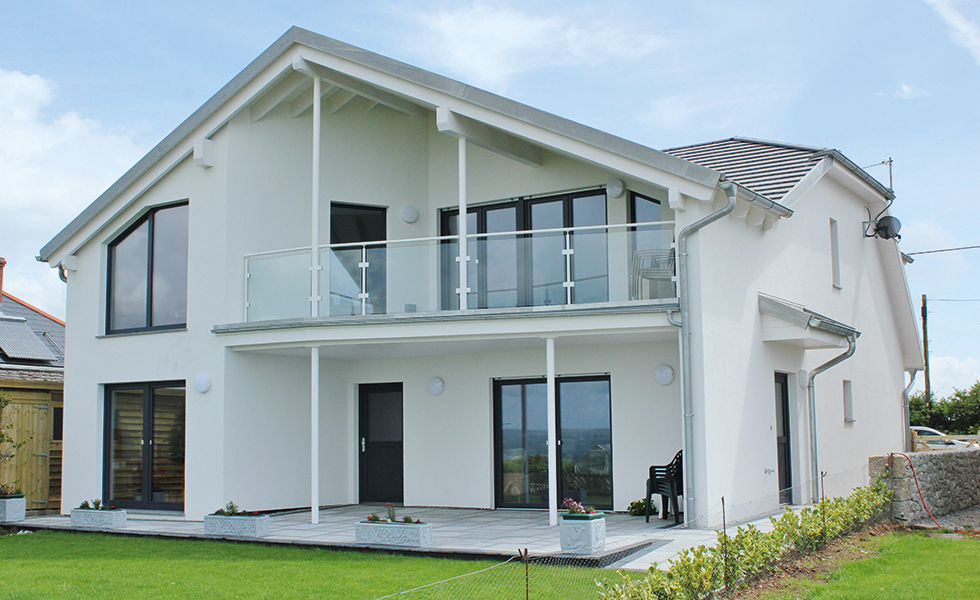 How to choose a package supplier homebuilding renovating - Houses three balconies ...