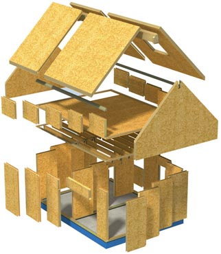 Sip panel home plans - Home plan