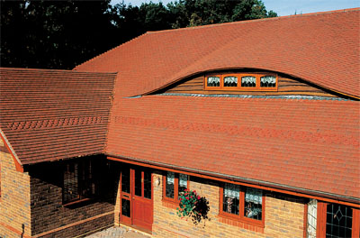An eyebrow dormer can make for a very interesting design feature