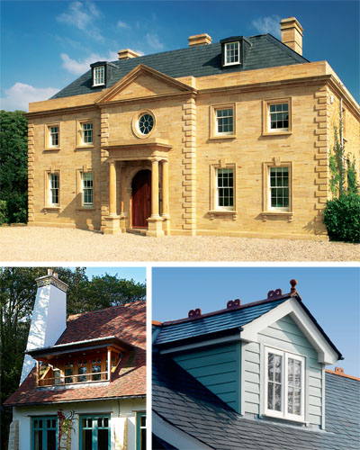 Dormer windows should fit well with the overall house design